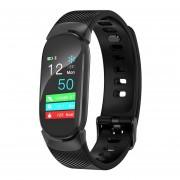 Pulsera de Fitness inteligente para mujer, banda inteligente de pantalla de Color, Monitor de frecu