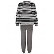 Babista herenmode Pyjama Roger Kent zwart/grijs/wit - Man - 64/66