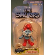 The Smurfs Series 1 3 inch Papa Smurf Action Figure