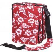 Zomo CD-Bag Large Premium Flower LTD rot/schwarz