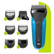 Braun Series 3 Electric Shaver - Precision Trimmer + 5 Combs