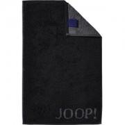JOOP! Handdoeken Classic Doubleface Gastendoekje zwart 30 x 50 ml 1 Stk.