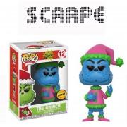 Funko Pop The Grinch Chase Version Azul Santa Claus Nuevo Navidad