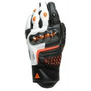 Dainese Carbon 3 Short Motocyklové rukavice 2XL Černá Bílá Oranžová