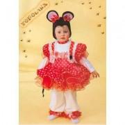 Costume Topolina Baby 6/12 mesi