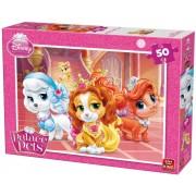 Puzzle King - Disney Princess - Palace Pets, 50 piese (05314-B)