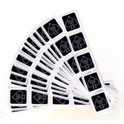 Deck Seal Black (100 Seals) By Us Playing Card Company Trick