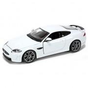 Bburago Speelgoedauto Jaguar XKR-S wit 1:24