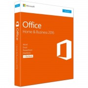 Software, Microsoft® Office 2016 Home and Business, Win, English, EuroZone, Medialess P2 (T5D-02826)