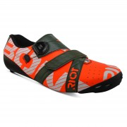 Bont Riot+ Road Shoes - EU 40 - Red/Green