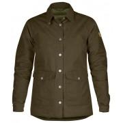 FjallRaven Down Shirt Jacket No.1 W - Dark Olive - Doudoune L