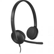 Logitech USB Headset H340 Слушалки с Микрофон
