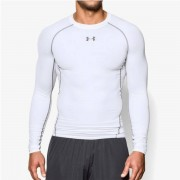Under Armour Kompresní tričko HG Armour LS White - Under Armour