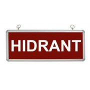 Corp iluminat de urgenta (6*0.1W) LED display HIDRANT - TG