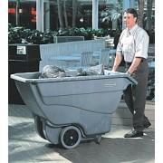 4536 Műanyag billenő szállítókocsi 0,4 köbméter