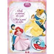Belle si catelusul din castel. Ariel si puiul de delfin + CD audio. Lectura Stela Popescu