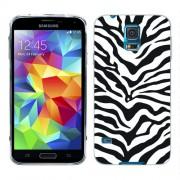 Husa Samsung Galaxy S5 Mini G800F Silicon Gel Tpu Model Animal Print Zebra