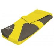 Felfújható egyszemélyes vendégágy hálózsákkal Aslepa SMA 106 sárga