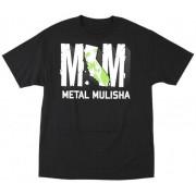 utcai póló férfi - Rocked - METAL MULISHA - Blk