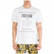 Versace Jeans Couture T-shirt maglia maniche corte girocollo uomo etichetta