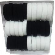 Param Rubber Hairbands (Black White)