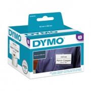 Dymo S0929110, 62mm x 106mm, bílý podklad, originální role jmenovek bez lepidla