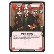 Killer Bunnies Promo Card: Odyssey Promo Cards: Triple Bunny Red #Ar61