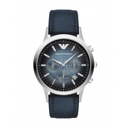 メンズ エンポリオ アルマーニ 腕時計 ダークブルー