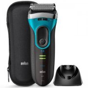 Електрическа самобръсначка Braun Series 3 ProSkin 3080s, Wet&Dry, Син/Черен