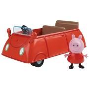 Peppa Malac - Családi autó + figura
