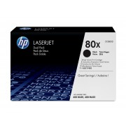 HP 'Contains two HP LaserJet black highcapacity print cartridges. Prints 7,000pgs per ctg. using ISO/IEC 19752 yieldstandard for LJ Pro 400, M401, MFP M425'