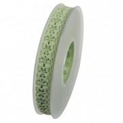 Szalag Maitanz textil 15mmx10m zöld