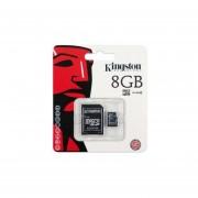 Memoria Micro Sd 8gb Kingston-Negro