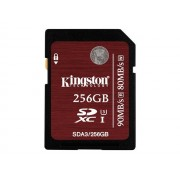 Kingston - Carte mémoire flash - 256 Go - UHS Class 3 / Class10 - SDXC UHS-I