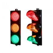 Semáforo de señalización rojo, verde y amarillo PROLIGHTLEDT
