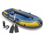 Intex Challenger 3 felfújható gumi csónak 3 fő részére, evezőlapáttal és pumpával 68370