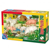 Super puzzle Animale, 240 piese