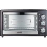 Borosil 30-Litre BOTG30CRB11 Oven Toaster Grill (OTG)(Black)