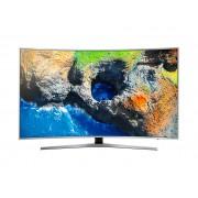Televizor LED Curbat Samsung 65MU6502 163 cm, Smart, 4K UHD, Wi-Fi, Argintiu