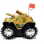 BABY Battery Operated Toy Tank PEACH COLOR TANK FOR YOUR KIDS