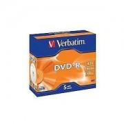 DVD-R Azo Color 16X 4.7GB, Slimcase 5, pret pe bucata