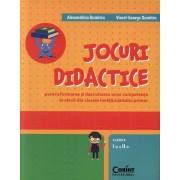 Jocuri didactice pentru formarea si dezvoltarea unor competente la elevii din clasele invatamantului primar. Clasele I-a si a II-a