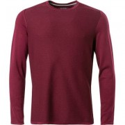 Marc O' Polo Pullover Herren, Baumwolle, rot