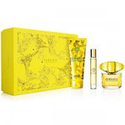 Versace Yellow Diamond Set ( Eau De Toilette 90ml+ Eau De Toilette Miniature 10ml+ Shower Gel 150ml) (8011003841899)