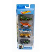 Set 5 masinute Hot Wheels Street Beasts