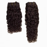 Rapunzel® Extensions Naturali Hair Weft Bouncy Curl 2.3 Chocolate Brown 30 cm