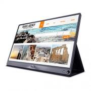 "ASUS ZenScreen MB16AC 15.6"" Full HD LED Gloss Flat Grey computer monitor"