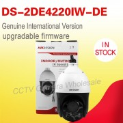 Free shipping DS-2DE4220IW-DE English version 20X Optical zoom 2MP Network PTZ Dome Camera POE P2P