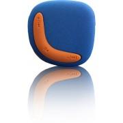 Lenco Xemio-244 - MP3 speler - 2GB - Blauw/oranje
