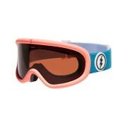 Electric Charger Snow Goggle Pink Palms Brose